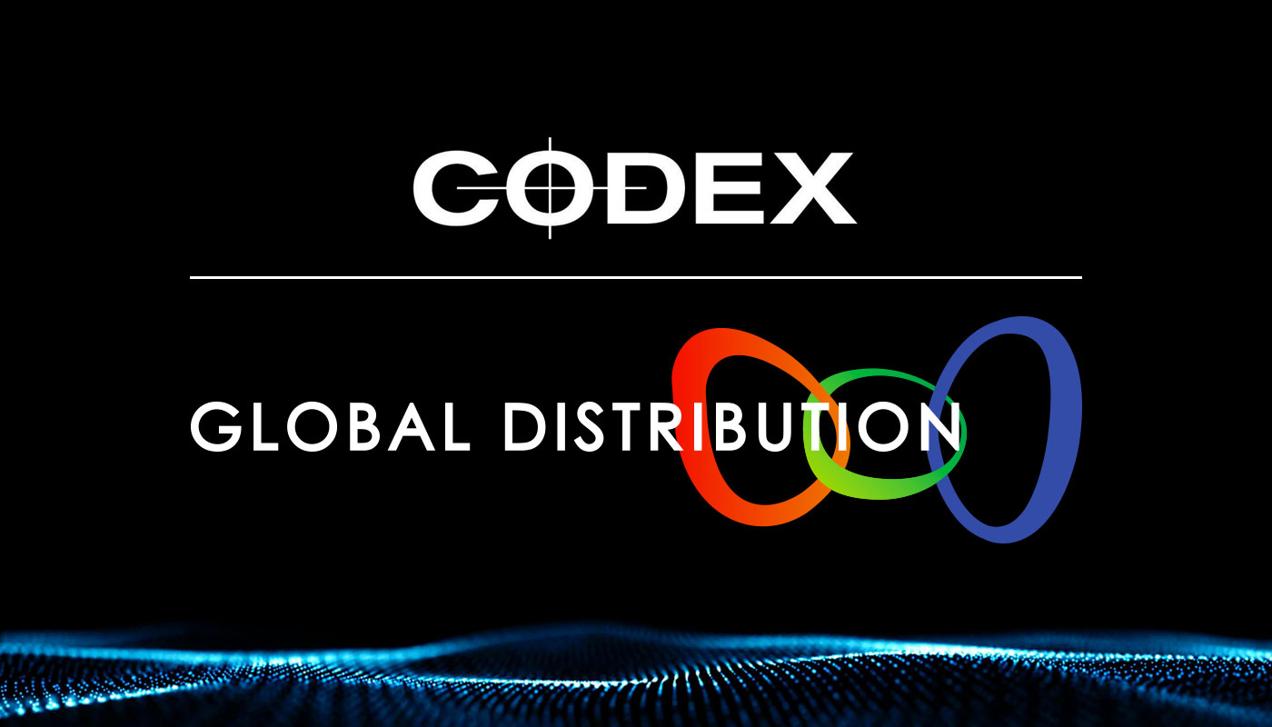 Codex and Global Distribution Announce partnership for North America, Europe, Middle East and Africa