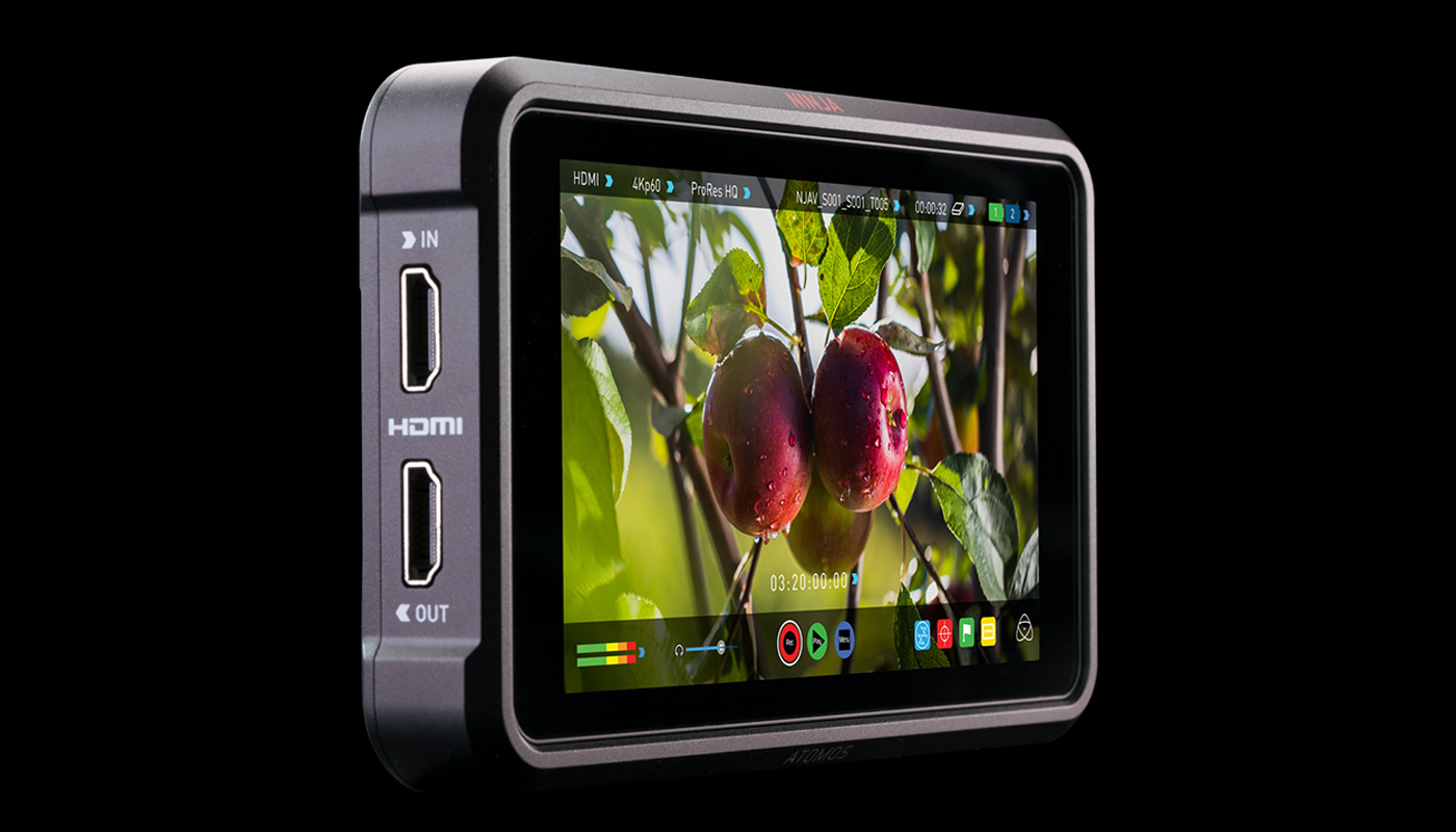 Atomos Introduce Ninja V at NAB 2018