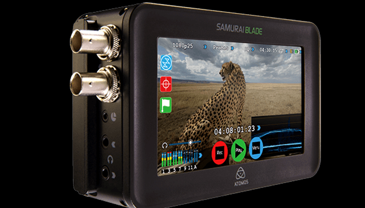 Forth-coming Samurai HD-SDI to ProRes 10-bit field recorder announced by Atomos.