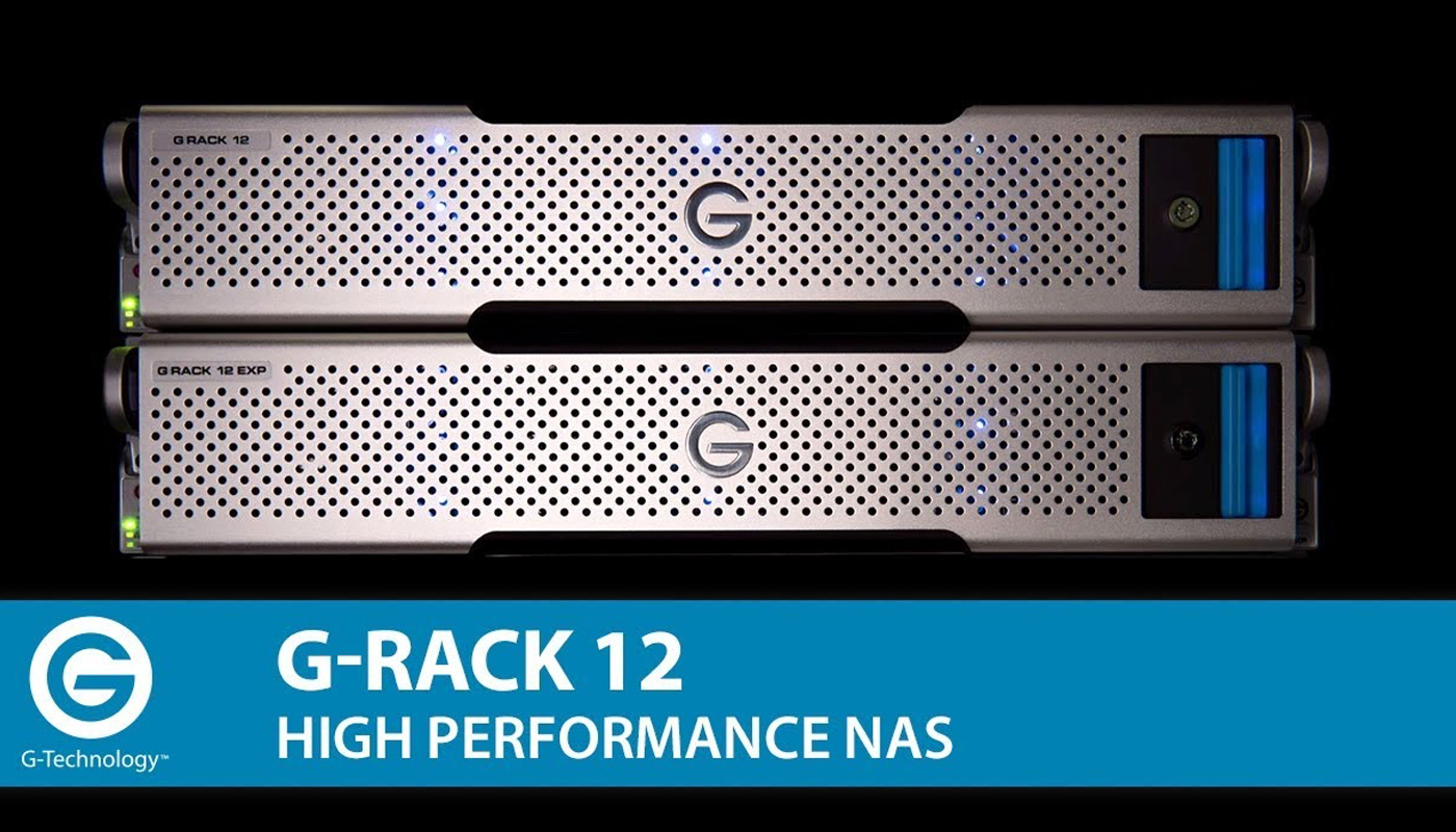 G-RACK. Centralised, High-Performance Storage for Demanding Content-Creation Workflow