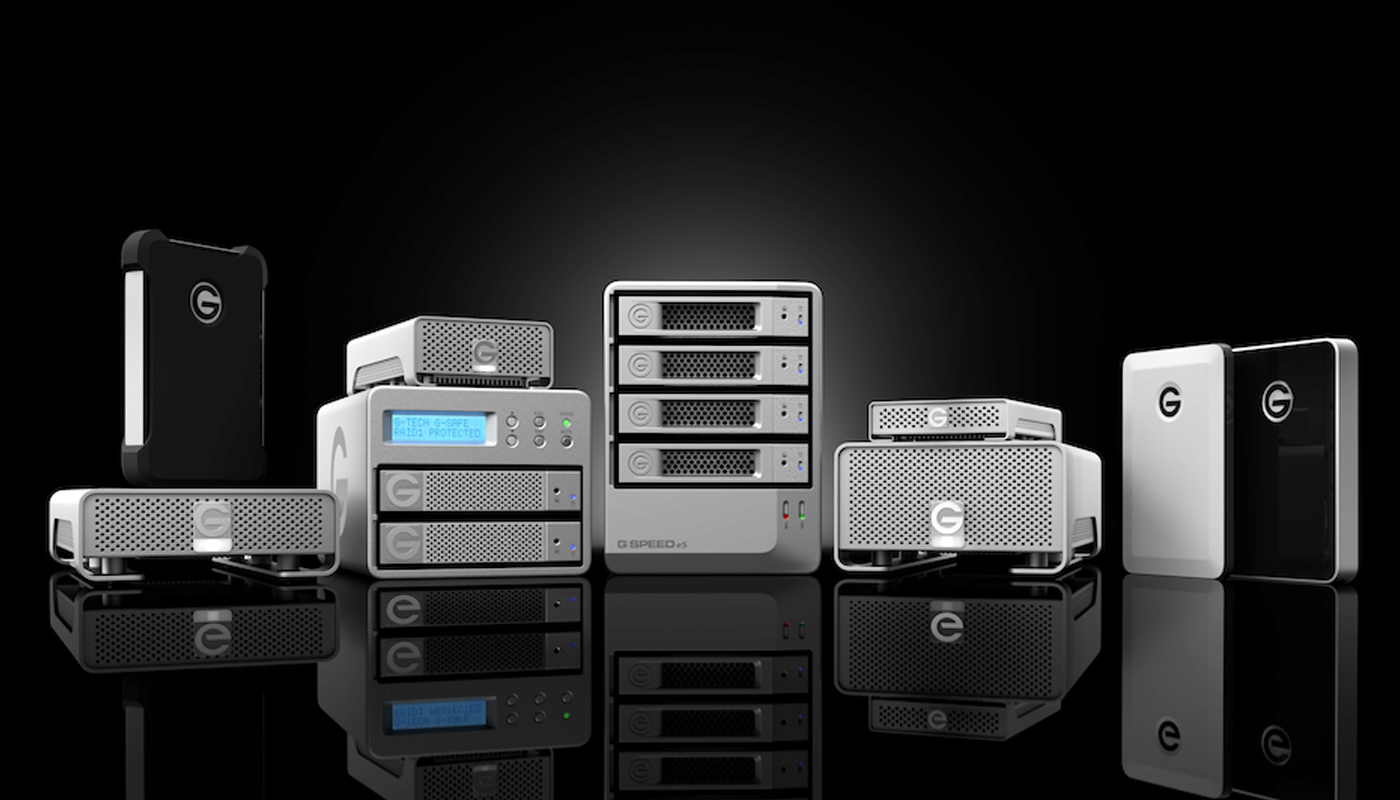 G-Technology launches the most flexible storage solution for digital workflows.