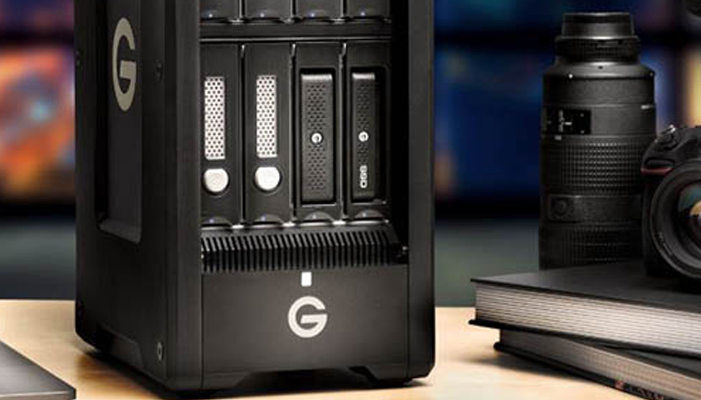 G-Technology launches new 'Studio' line of external hard drives.
