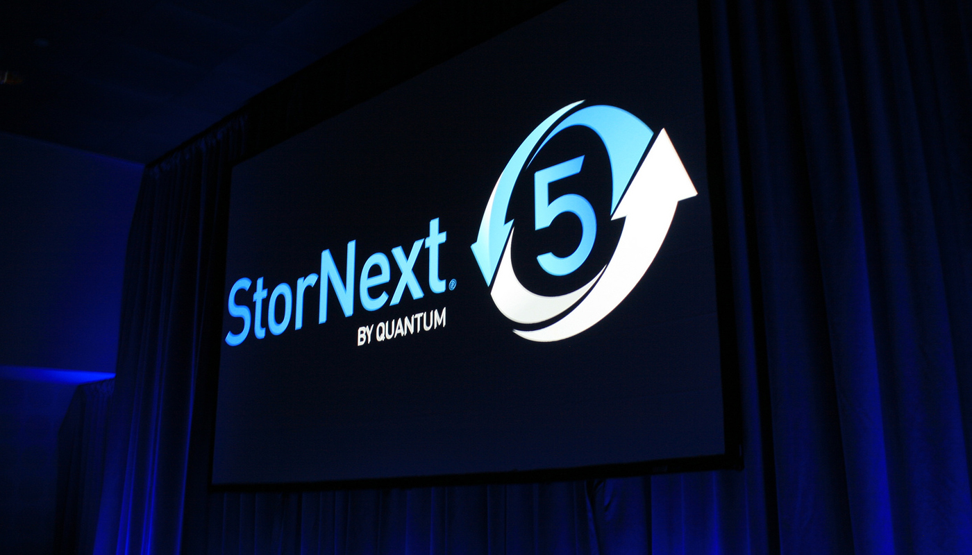 Quantum ushers in new era of digital workflows with StorNext 5 appliances.