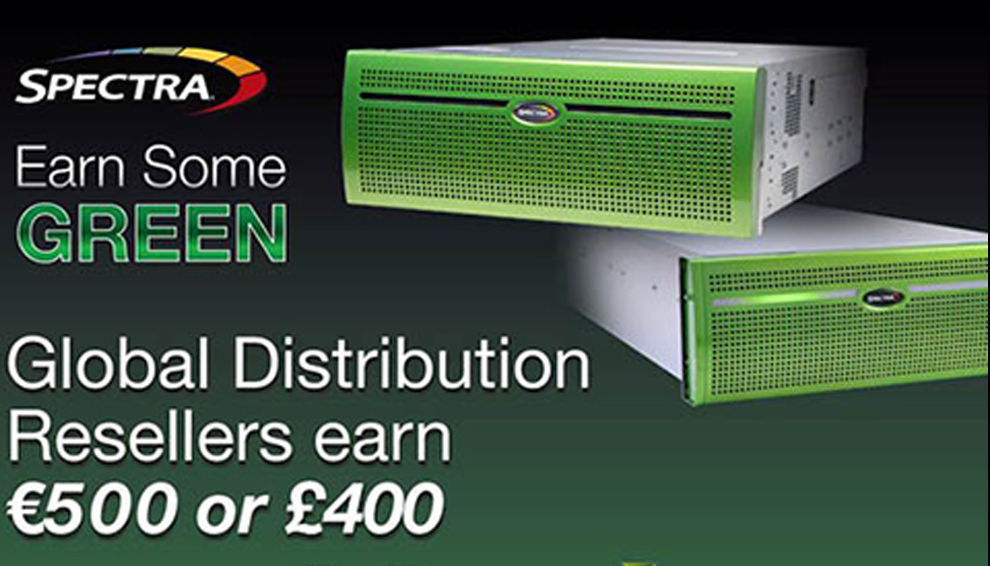 Global Distribution Resellers earn some green with Spectra Verde