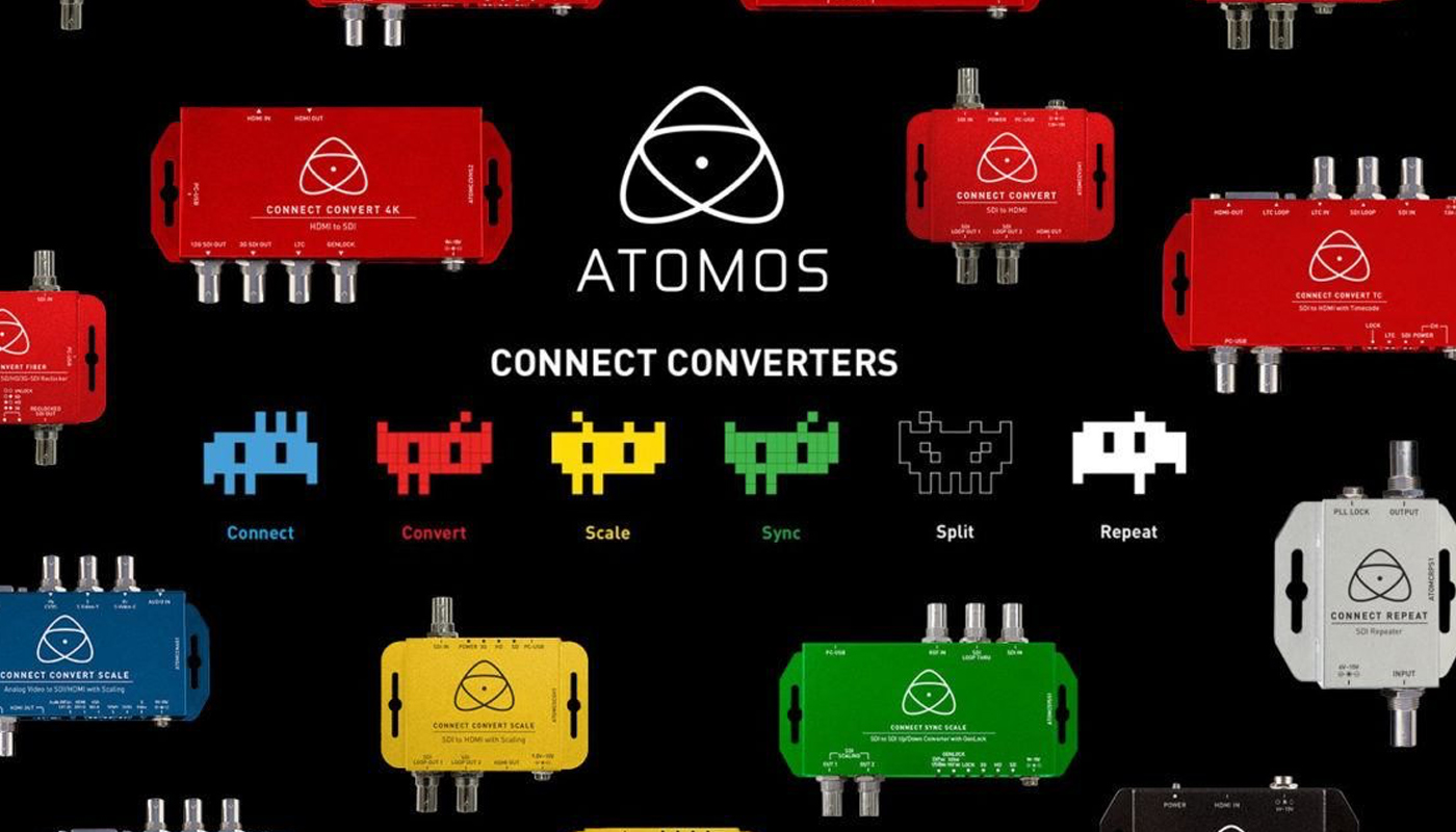 Atomos 15-strong Connect converter range prepares to invade IBC 2017!