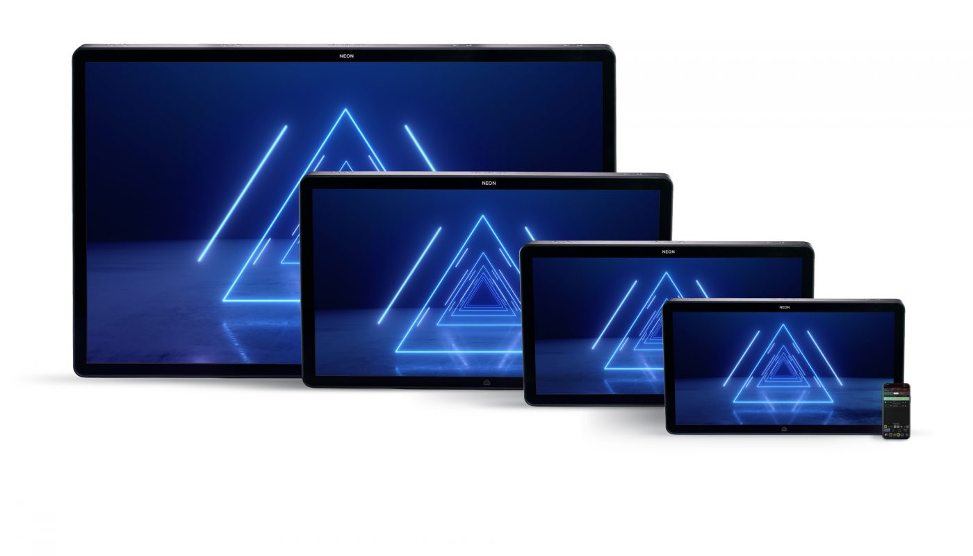 ATOMOS INTRODUCE NEON: THE ALL-NEW CINEMA MONITOR-RECORDING DISPLAYS