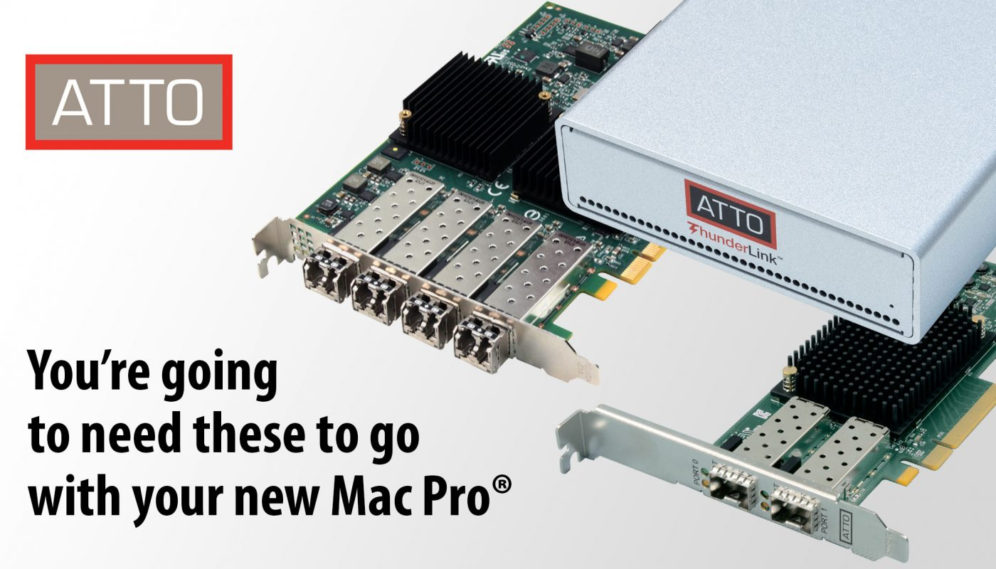 ATTO Announces Support for New, Revolutionary Apple Mac Pro & macOS Catalina