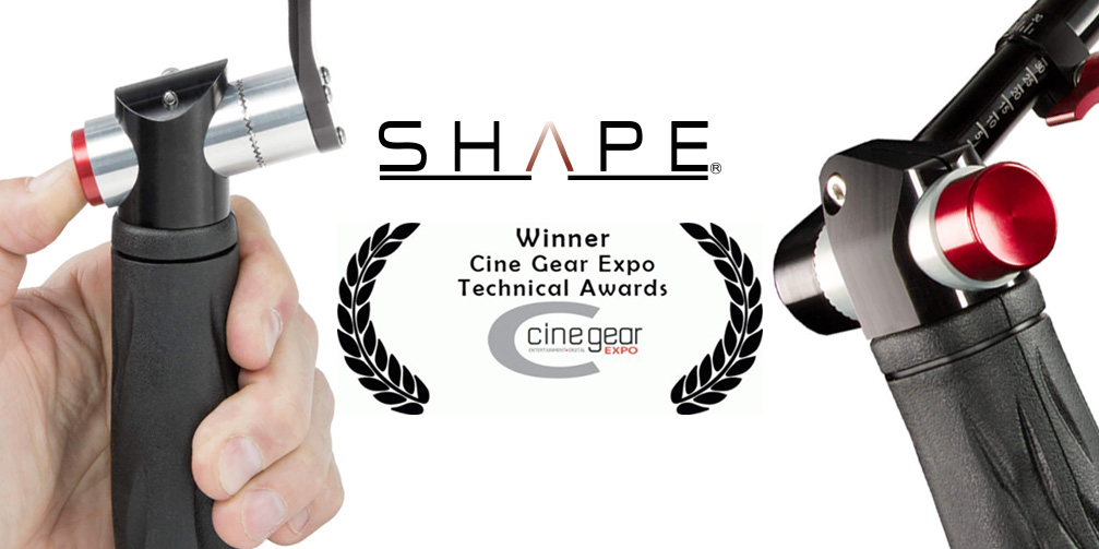 SHAPE's push-button technology recognised at Cinegear 2019