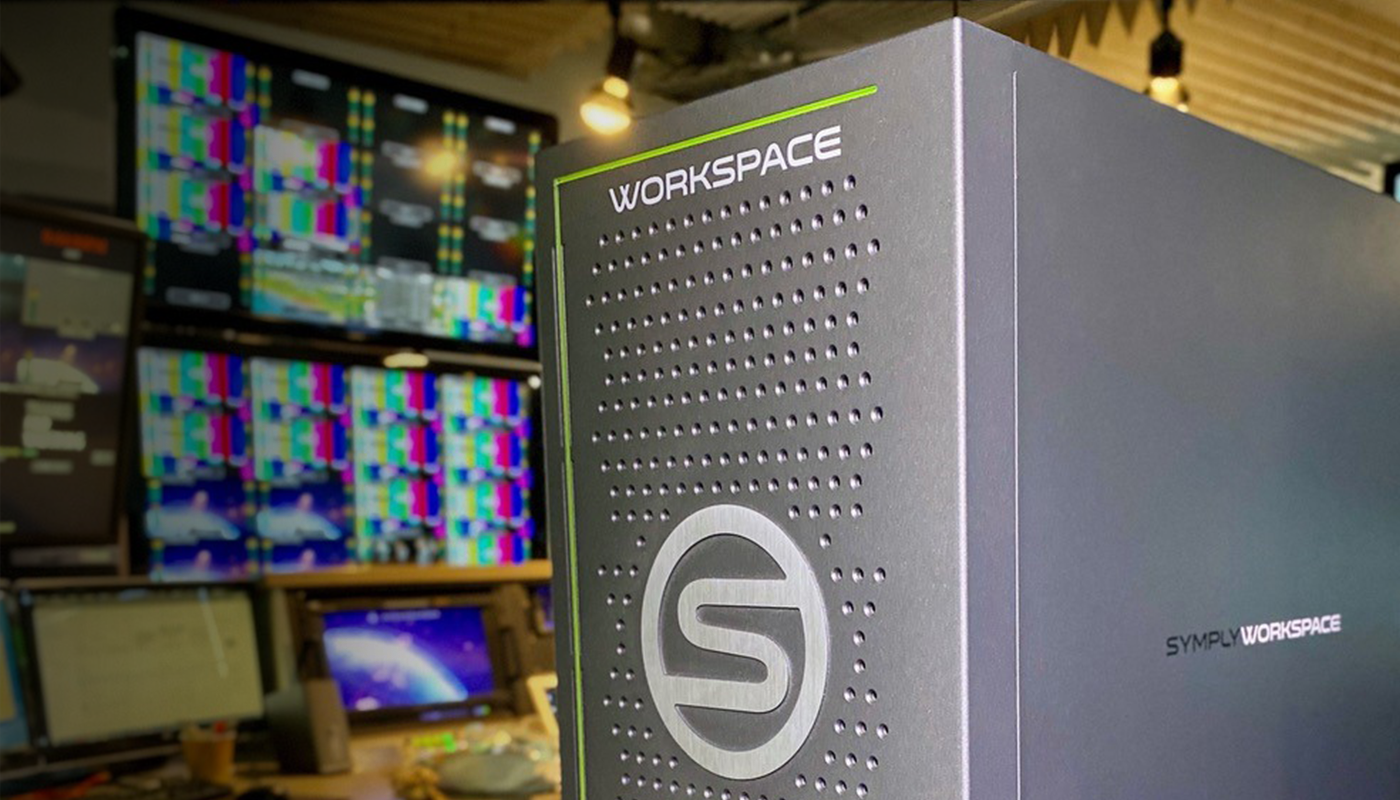 SymplyWORKSPACE, The Industry's first StorNext®6 Powered, Production Storage Now Upgraded to Include Embedded axle ai 2020
