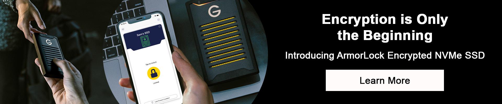 G-Technology ArmorLock - Desktop Banner image
